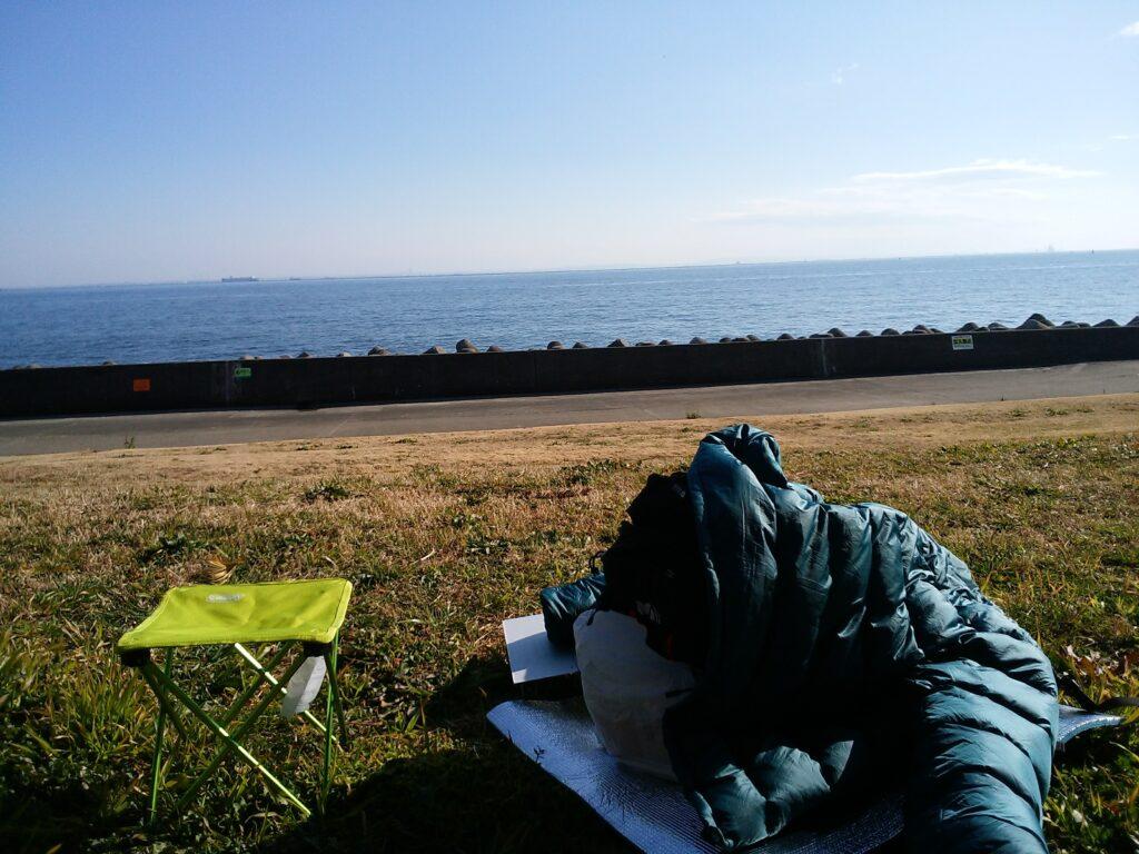 海辺の散歩コース