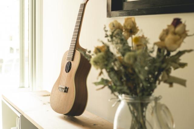 ウクレレやギターを楽しむ