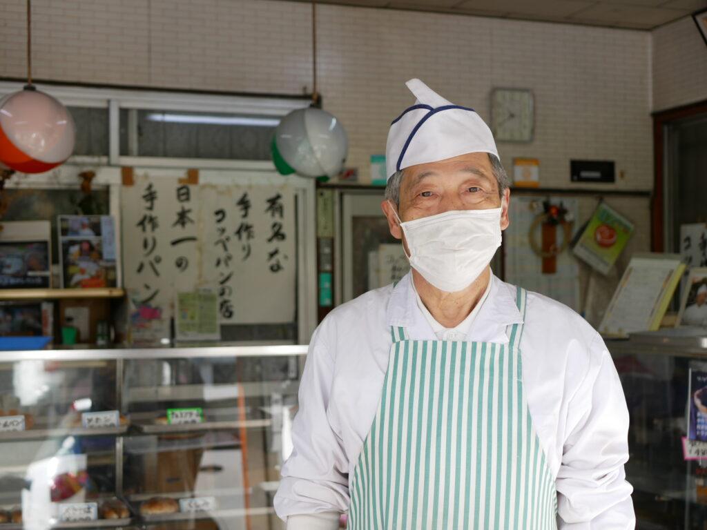 松本製パンの店主
