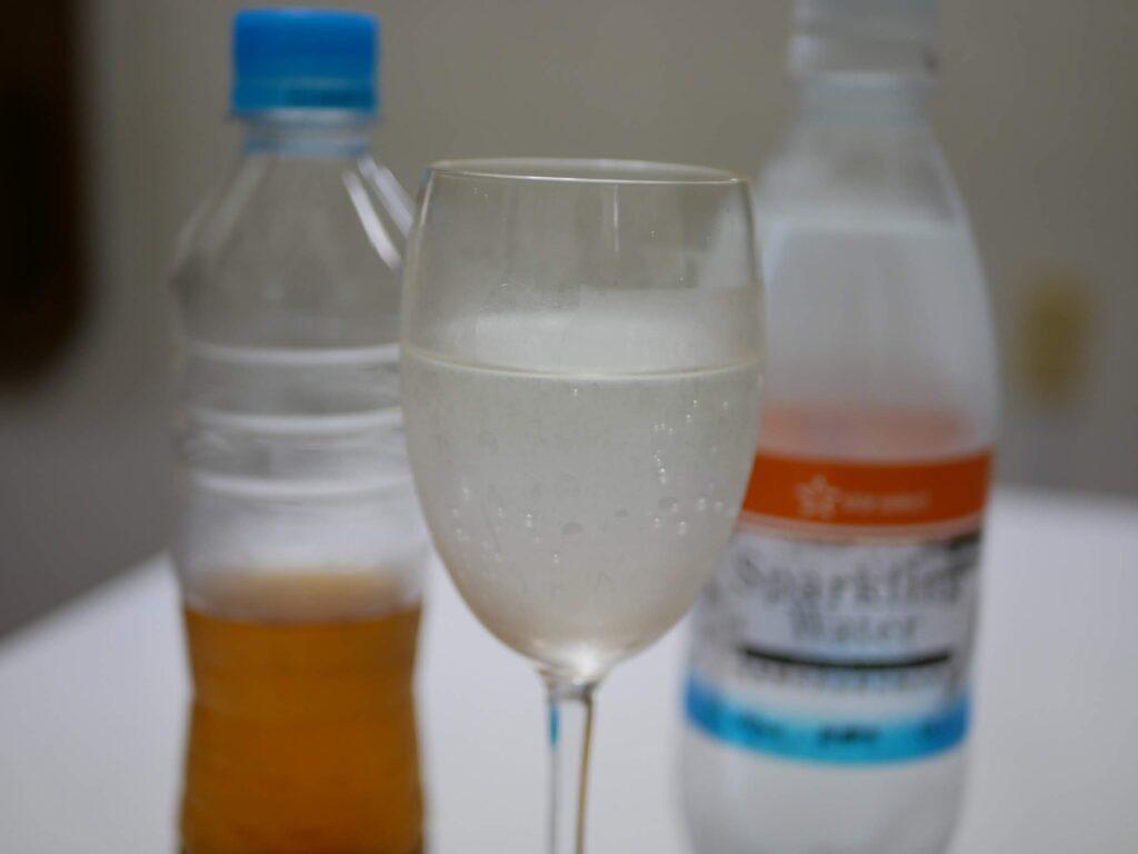 最近は強炭酸と梅酢で梅酢ドリンクでダイエット