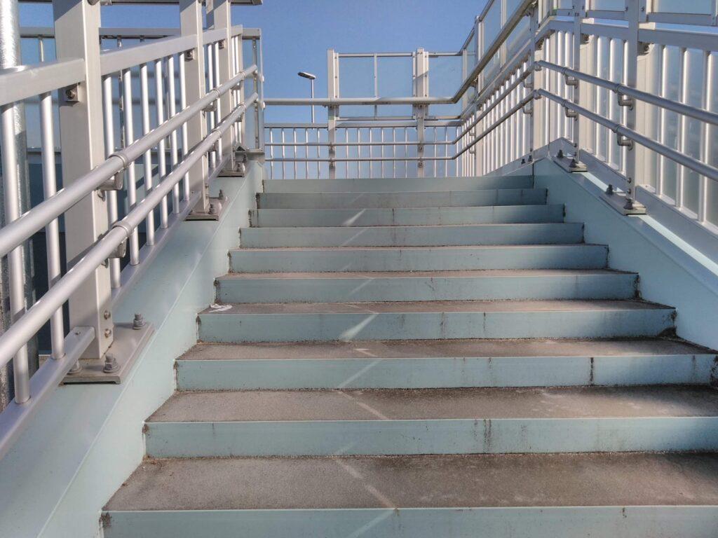 階段は良い運動になります