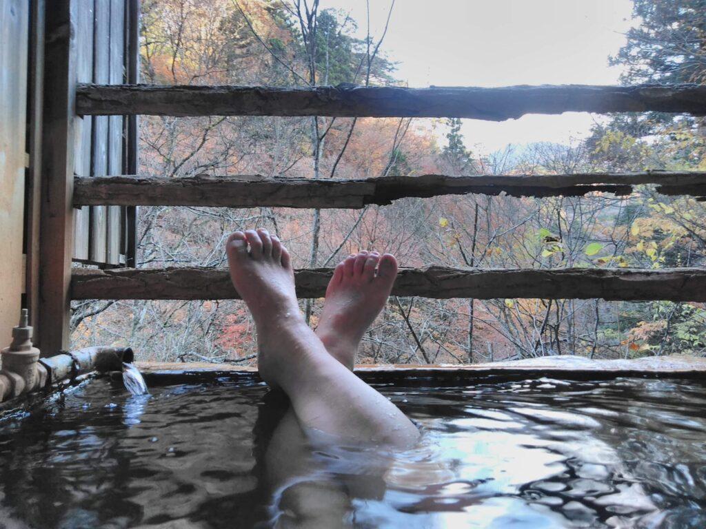 わが家にもこんな温泉空間をつくるのです。