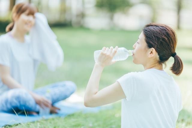健康的に水をのむ!